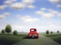 Down a Back Country Road Fine Art Print
