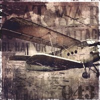 Vintage War Aircraft Fine Art Print