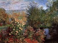 Garten von Montgeron Fine Art Print