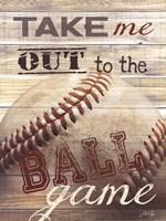 Take Me Out to the Ballgame Fine Art Print