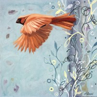 Bird In Flight Fine Art Print