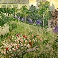 Daubigny's garden, 1890 Framed Print