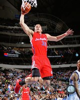Blake Griffin 2013-14 slam dunk Fine Art Print