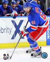 Rick Nash Hockey Stickhandling Fine Art Print