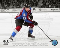 Nathan MacKinnon 2013-14 Spotlight Action Fine Art Print