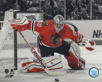 Corey Crawford 2013-14 Spotlight Action Fine Art Print