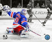 Henrik Lundqvist 2013-14 Spotlight Action Fine Art Print
