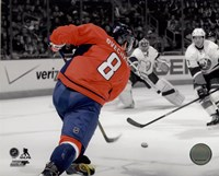 Alex Ovechkin 2013-14 Spotlight Action Fine Art Print