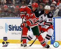 Patrik Elias 2014 NHL Stadium Series Action Fine Art Print