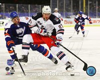 Ryan McDonagh 2014 NHL Stadium Series Action Fine Art Print