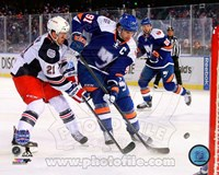 John Tavares 2014 NHL Stadium Series Action Fine Art Print
