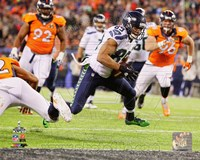 Doug Baldwin Touchdown Super Bowl XLVIII Action Fine Art Print