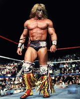 Ultimate Warrior Action Fine Art Print