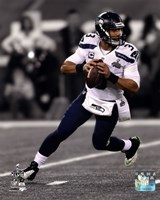 Russell Wilson Super Bowl XLVIII Spotlight Fine Art Print