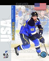 David Backes - USA Portrait Plus Fine Art Print