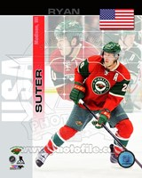 Ryan Suter - USA Portrait Plus Fine Art Print