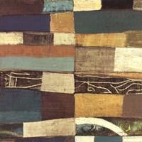 Eileen IV Blue Fine Art Print