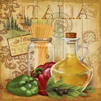 Italian Kitchen II Fine Art Print