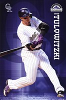 Colorado Rockies® - T Tulowitzki 14 Wall Poster