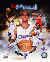 Chris Paul 2014 Portrait Plus Framed Print