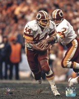 John Riggins Action Framed Print
