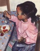 Strawberries and Cream Fine Art Print