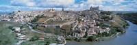 Aerial view of Toledo Spain Fine Art Print