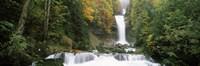 Giessbach Falls on Lake Brienz, Bernese Oberland, Berne Canton, Switzerland Fine Art Print