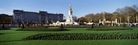 Queen Victoria Memorial at Buckingham Palace, London, England Fine Art Print
