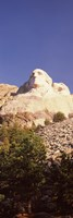 Low angle view of the Mt Rushmore National Monument, South Dakota, USA Fine Art Print