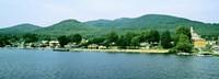 Lake George shore line, New York State, USA Fine Art Print