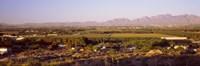 Overview of Alamogordo, Otero County, New Mexico, USA Fine Art Print