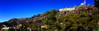 Low angle view of Hollywood Sign, Hollywood Hills, Hollywood, Los Angeles, California, USA Fine Art Print