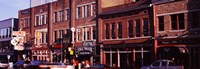Buildings along a street, Nashville, Tennessee, USA Fine Art Print