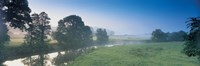 Taw River near Barnstaple N Devon England Fine Art Print