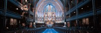 Notre-Dame Basilica Montreal Quebec Canada Fine Art Print