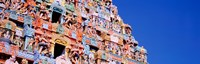 Low angle view of a temple, Tiruchirapalli, Tamil Nadu, India Fine Art Print