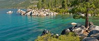 Boulders at Sand Harbor, Lake Tahoe, Nevada, USA Fine Art Print