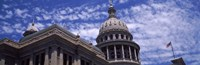 Low angle view of the Texas State Capitol Building, Austin, Texas, USA Fine Art Print
