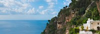 Hillside at Positano, Amalfi Coast, Italy Fine Art Print
