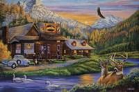 Mountain Oasis Fine Art Print