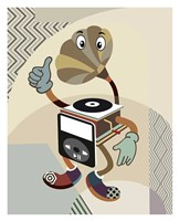 Retro Music Playlist I Fine Art Print