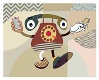 Retro Telecom II Fine Art Print