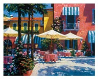 Inn at Lake Garda Fine Art Print
