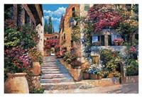 Riviera Stairs Fine Art Print