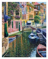 Romantic Canal Fine Art Print