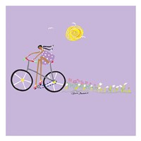 Tour de Girls 2 Framed Print