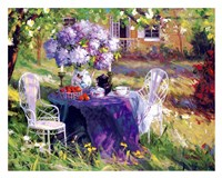 Lilac Tea Party Fine Art Print