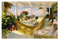 Porches and Patios Fine Art Print