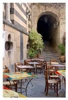 Caffe, Amalfi Fine Art Print